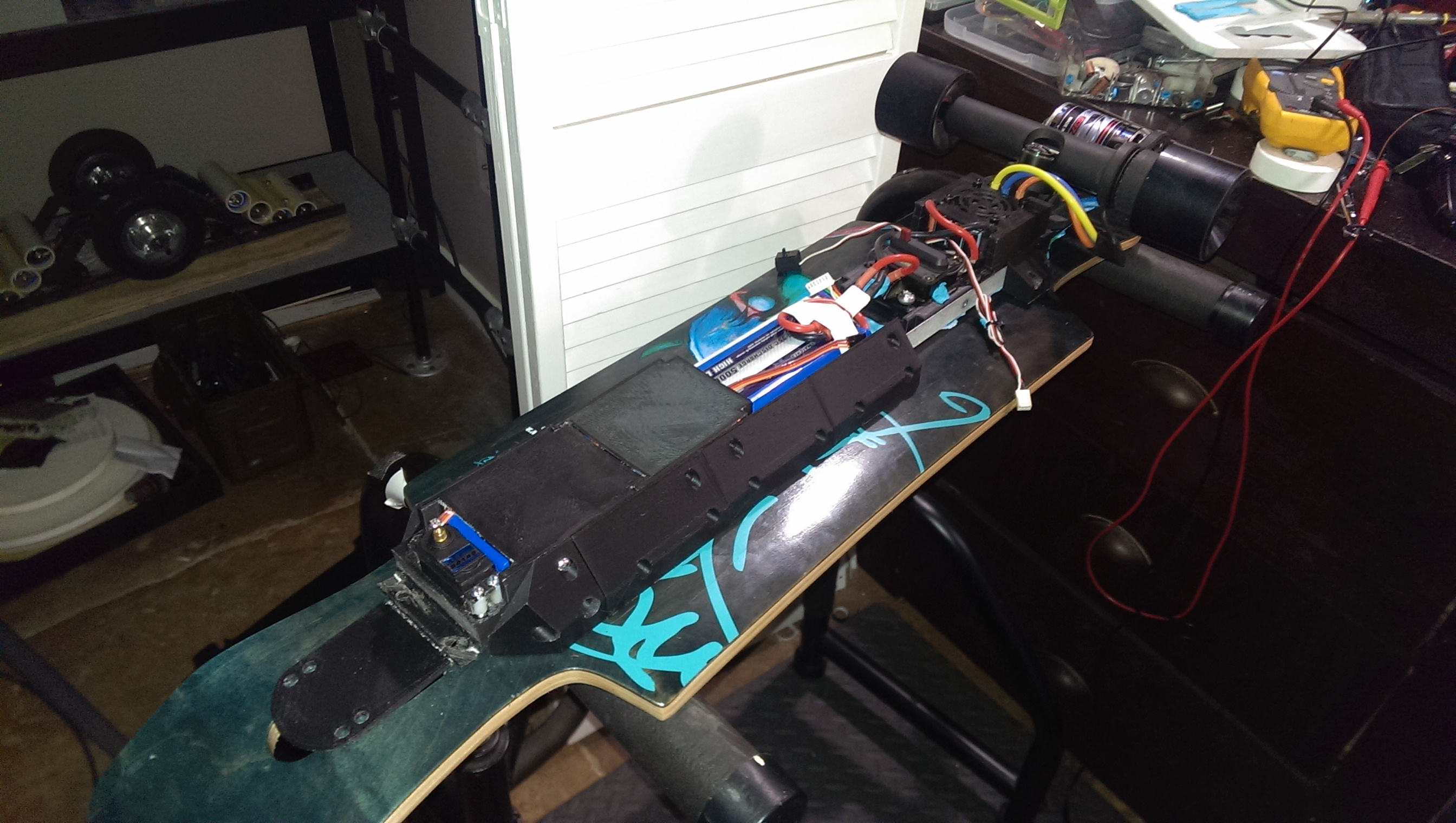 Hackaday electric longboard